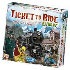 Ticket to Ride Europe Board Game ***NEW***