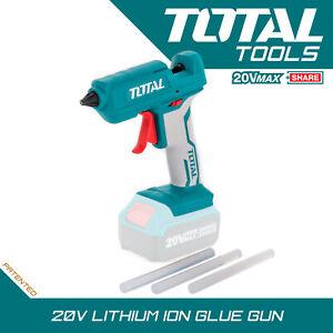Cordless Hot Glue Gun 20v Lightweight Pen Soft Grip Fast Melt, Body Only