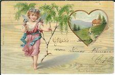 Ansichtskarte Poststempel Echternach, Ettelbruck, Arlon - Luxemburg - gel. 1902!