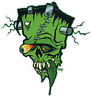 Franken Tongue STICKER Decal Frankenstein Eric Pigors PG55
