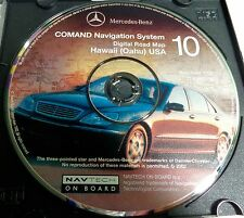 OEM 2000 2001 2002 Merdedes Benz S600 S500 S430 S55 CL600 Navigation  #10 Hawaii