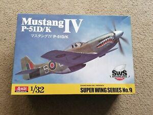 SWS Mustang IV P51D/K Part Built 1/32 Kit