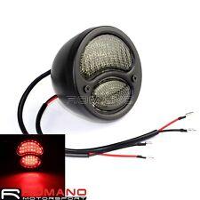 Tail Light Tail Lamp Steel LED For Ford Model A Duolamp Bobber Chopper Sportster