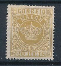 [51126] Macau 1884 good perf. 13 MH Very Fine stamp