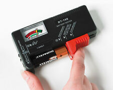 Battery Tester Test Batteries Check Length Of Charge Measures