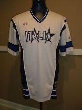 Champion Men's XL White Italia Basketball Mesh Jersey/Shirt Free Shipping!