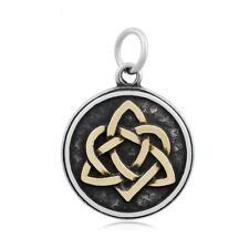 Knot Trinity Pendant no chain 316L Gold Plated Stainless Steel Sister's