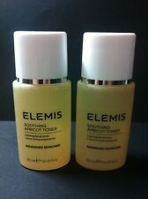 2 x ELEMIS - SOOTHING APRICOT TONER - 50ml Travel Size - Authentic