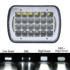 "DOT Approved 5X7"" 7x6"" LED Headlights Replacement for Jeep Cherokee XJ YJ Trucks"