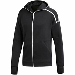 adidas ZNE Fast Release Mens Hoodie Full Zip Sports Gym Hooded Sweatshirt XXL
