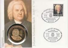Numisbrief Duitsland 1993 - Johann Sebastian Bach (D012)