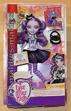 Ever After High Kitty Cheshire cdh53 Nuovo/Scatola Originale Bambola