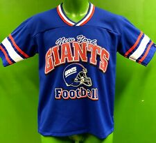 J842/220 NFL New York Giants Jersey-Style Top Retro Style Men's Small