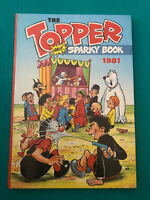 The TOPPER And SPARKY book Annual 1981 - Vintage Comic Hardback Book