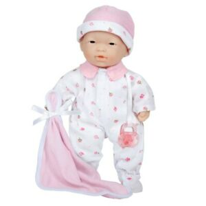 """Soft & Sweet 11"""" Asian Baby Doll Designed by Berenguer"""