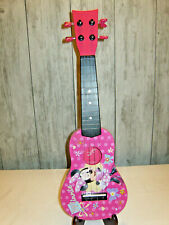 """New listing First Act 20"""" Minnie Mouse Child's Pink Guitar Ukulele 4 String"""