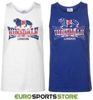NEW Lonsdale Mens GB London Gym Vest Singlet Size S M L XL 2XL Sports Holiday