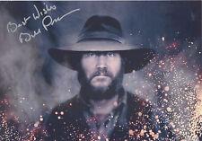 BILL PAXTON Signed 12x8 Photo HATFIELDS AND McCOYS & TERMINATOR COA