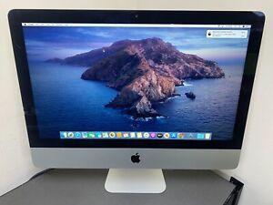 "2012 Apple iMac 21.5"" A1418 Intel QUAD Core i7 3.1GHz 8GB 1TB HD CRACKED GLASS"