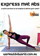Pilates Core WORKOUT DVD - Barlates Body Blitz EXPRESS MAT ABS!