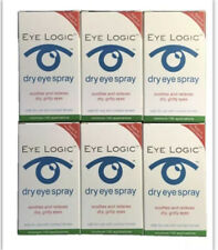 6 Pack EYE LOGIC Formerly Clarymist Eye Spray 6x 10ml Dry Eyes Soya Lecithin
