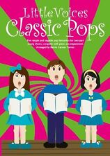 Little Voices CLASSIC POPS LEARN TO SING Beginner VOCAL VOICE CHOIR Music Book