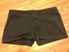 Mossimo Shorts Womens Black Size 3 Double Button Short Faded