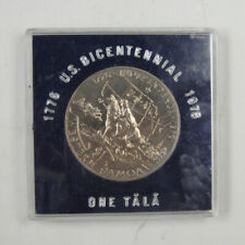 New listing Western Samoa Coin $1 Tala 1976 Unc, Independence