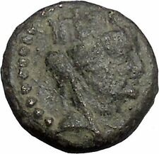 ANTIOCH in SELEUKIS and PIERIA 92BC Tyche Tripod Ancient Greek Coin i50334