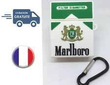 Coque Silicone pour Airpods Airpod Cigarette Marlboro Vert Livraison Offerte