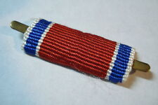 Soviet Ribbon Bar Medal 1957 Courage During Saving Life in Fire