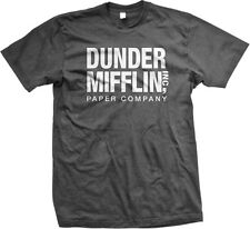 Dunder Mifflin Paper Co Inc Scranton PA The Office Dwight Jim Pam Mens T-shirt