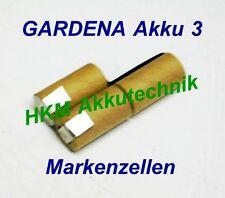 Gardena Batterie 3 piles 3,6V 1,5 Ah NiCd cellules de marque pour ORIGINAL