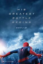 AMAZING SPIDER-MAN 2 2014 Advance Teaser 2 Sided DS 27x40 Movie Poster Garfield