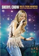 SHERYL CROW - MILES FROM MEMPHIS - LIVE AT THE PAN NEW DVD