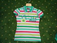 Catimini Spirit Denim Polo Shirt, Striped Size 14a