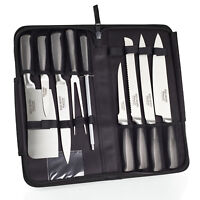 Ross Henery Professional Eclipse Premium Stainless Steel 9 Piece Chef's Knives