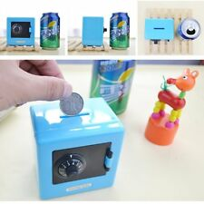 Combination Lock Money Box Code Safe Coins Cash Saving Piggy Bank Gift New Year