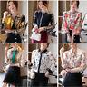 Fashion Women Button Down Shirt Business Career Work Long Sleeve Fall Blouse Top