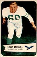 1954 Bowman #57 Chuck Bednarik EXMT+ Eagles 400473