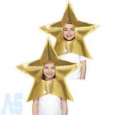 Christmas Gold Star Headpiece Childs Boys Girls Nativity Fancy Dress Costume Kid