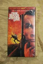 JAMES BOND 007 From Russia With Love Sean Connery Robert Shaw VHS MOVIE SEALED!!