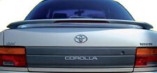 Fits 1993 - 1997 Toyota Corolla Custom Style Spoiler Wing Primer Rear