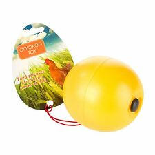 Chicken Toy Treat Dispensing Ball by Manna Pro.  Free Shipping.