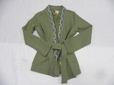 Roxy Meiva Oil Green Jacket Sz Small SERJJK03167