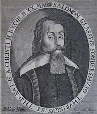 SALOMON GLASSIUS, Solomon Glassius (Salomon Glassius, (1593 - 1656) théologien l