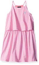 Nautica Childrens Apparel Big Girls Printed Knit Dress W/ Tier- Pick SZ/Color.