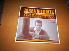 """HERB ALPERT'S TIJUANA BRASS  """"ZORBA THE GREEK  EP  7 inch 45"""