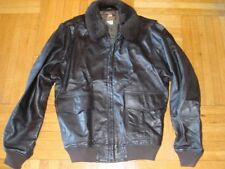US Navy G1 Intermediate Flight Jacket - Mens Size 42 Reg / Large - Leather