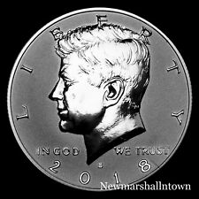 2018 S Kennedy Half Dollar Reverse Silver Mint Proof from Reverse Proof Set